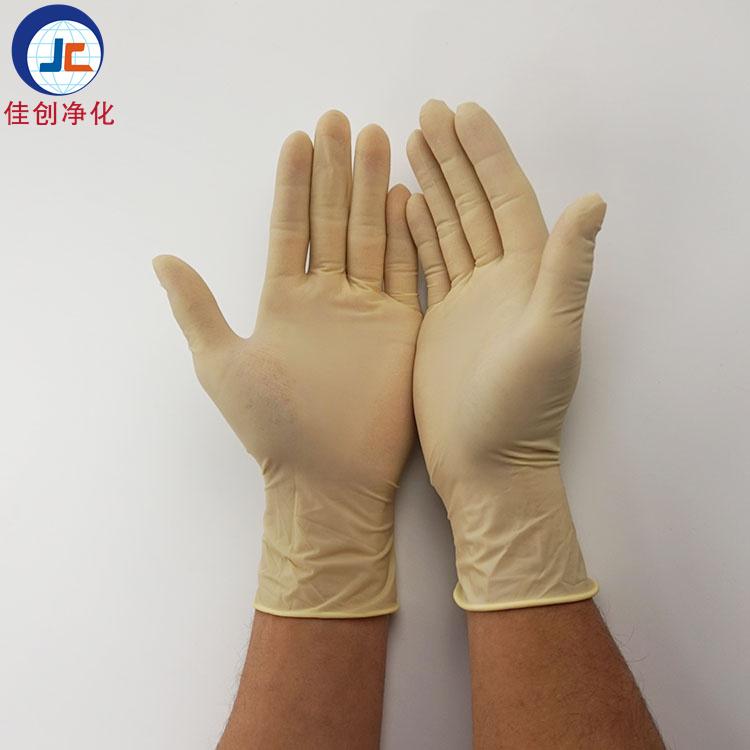 佳创jc-1一次性乳胶手套 防护手套 橡胶手套 一次性劳保手套 无尘手套 东莞生产厂家