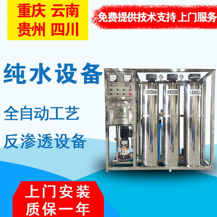 重庆名膜水处理定制双级高纯水设备超纯水机