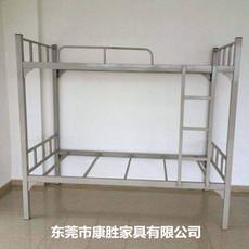 供应KS批发东莞上下铺单人铁床 价格合理 学生上下铺单人铁架床价格