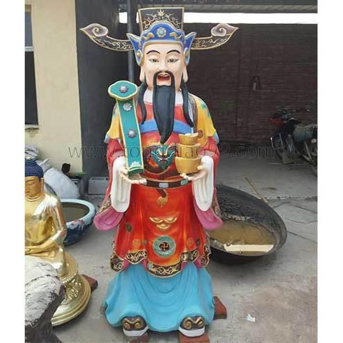 道教神像铜雕-博创雕塑制作