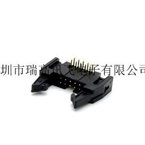 瑞高讯飞RFDC2-200BXXB64P直插型牛角简牛