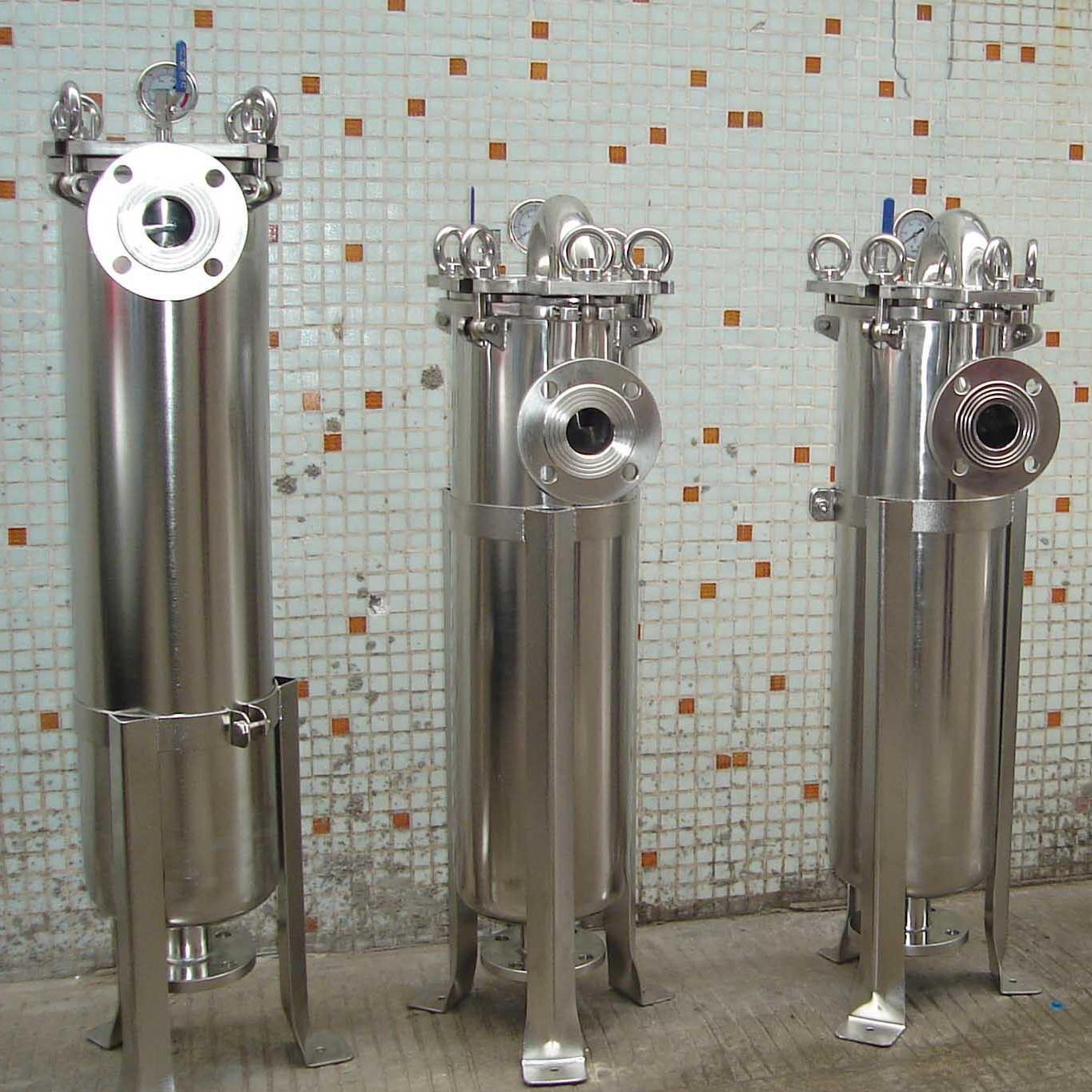 多用途水处理设备袋式过滤器外形精细美观