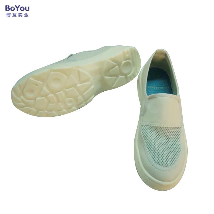 厂家直销防静电pvc网眼鞋皮革帆布鞋工作防护鞋安全鞋特价批发