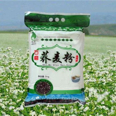 陕北特色产品靖边县红盛小杂粮5kg健康美味营养石磨荞麦粉