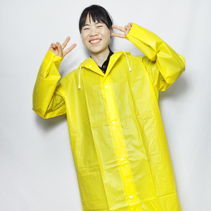 EVA背包雨衣防水加大帽檐加厚环保成人雨衣户外徒步雨披工厂生产