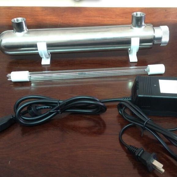 深圳现货热销过流式紫外线杀菌器STL-UV-50TD600W