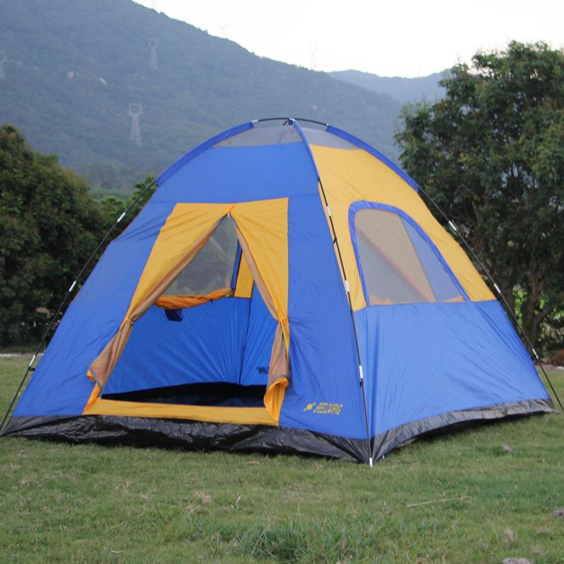 招商 4-5-6人多人双层帐篷