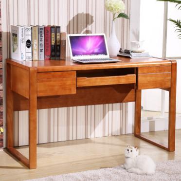 供应 实木电脑桌简易办公转角家用