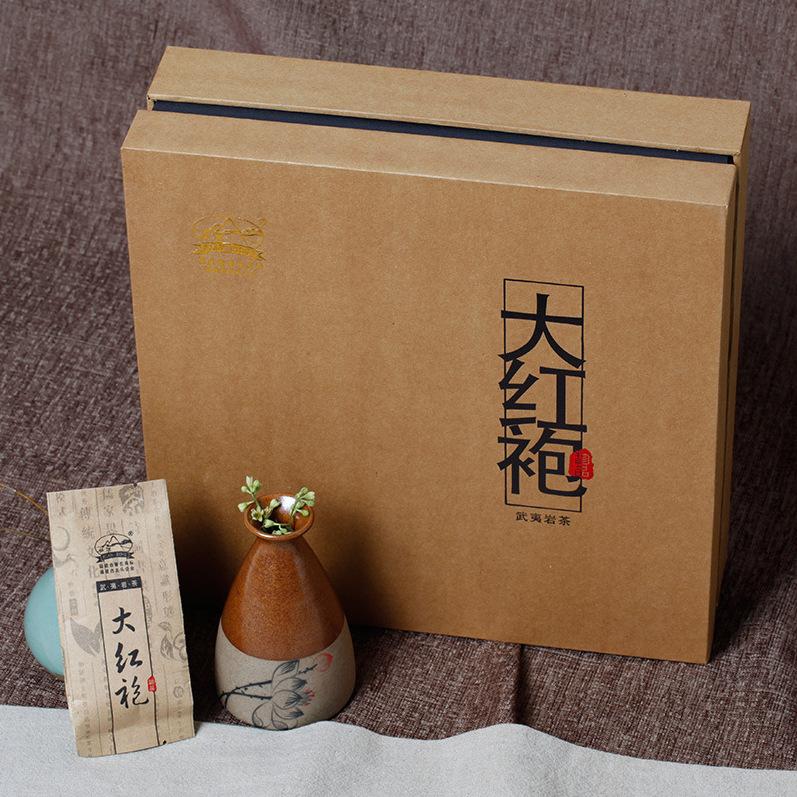 供应 大红袍浓香型茶叶礼盒装250g