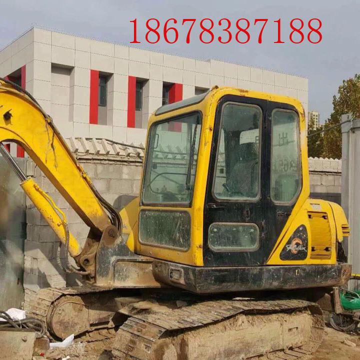 小型二手挖掘机现代55二手挖掘机