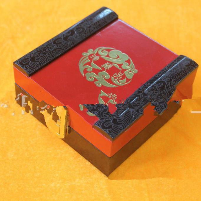 供应高档贴字项链盒手镯挂件盒高档贴字项链盒手镯挂件盒复古盒首饰盒包装定做