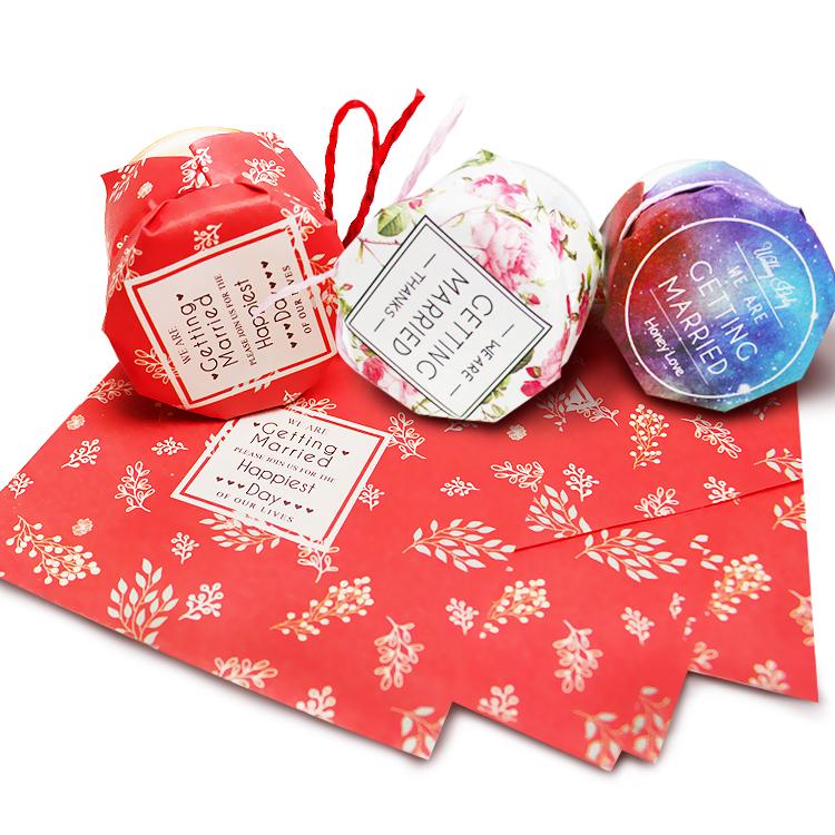 纯手工制造牛皮纸封口纸 蜂蜜瓶子封口包装 果酱包装纸 食品用纸1