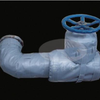 可拆卸弯头保温套 柔性保温套 韵恒制作加工  拆卸方便   重复使用  优质保温套厂家