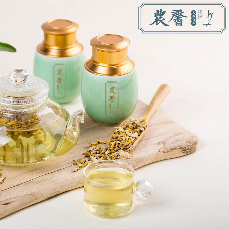 海南农馨原生态火山富硒金钗石斛饮片50g