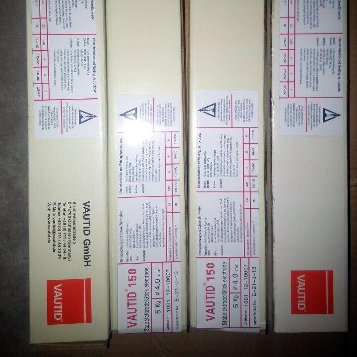 正品直销德国法奥迪VAUTID-V 146铁基耐磨堆焊焊条 耐磨药芯焊丝