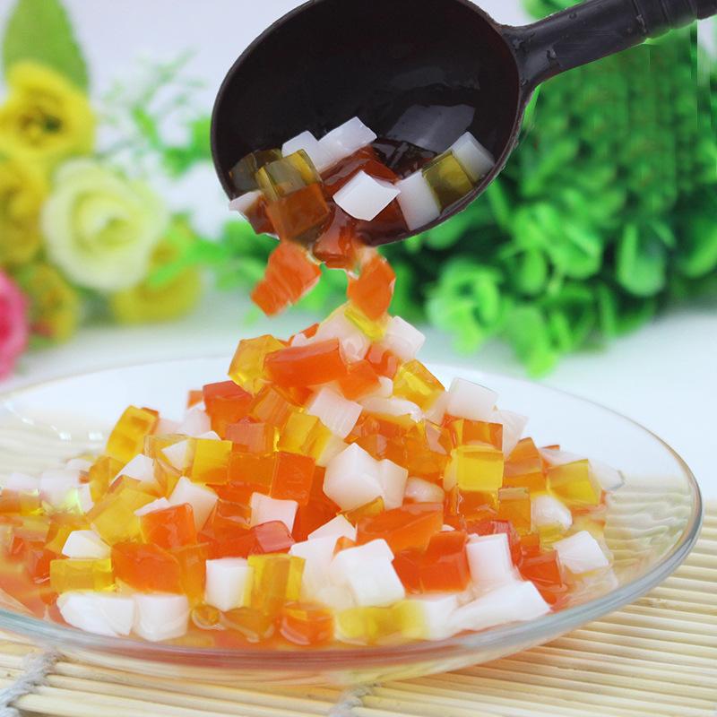 魔芋饮料综合水晶彩色魔芋水晶椰果粒奶茶专用 2.1L 餐饮专用