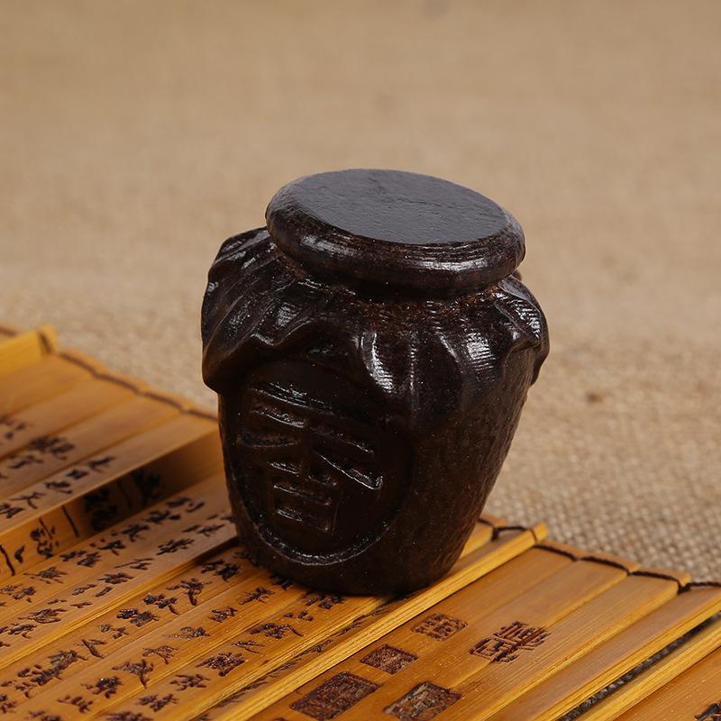 沙沉木木质摆件皮黑木雕手把件工艺品批发