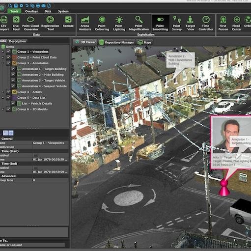 Arena4D三维处理软件