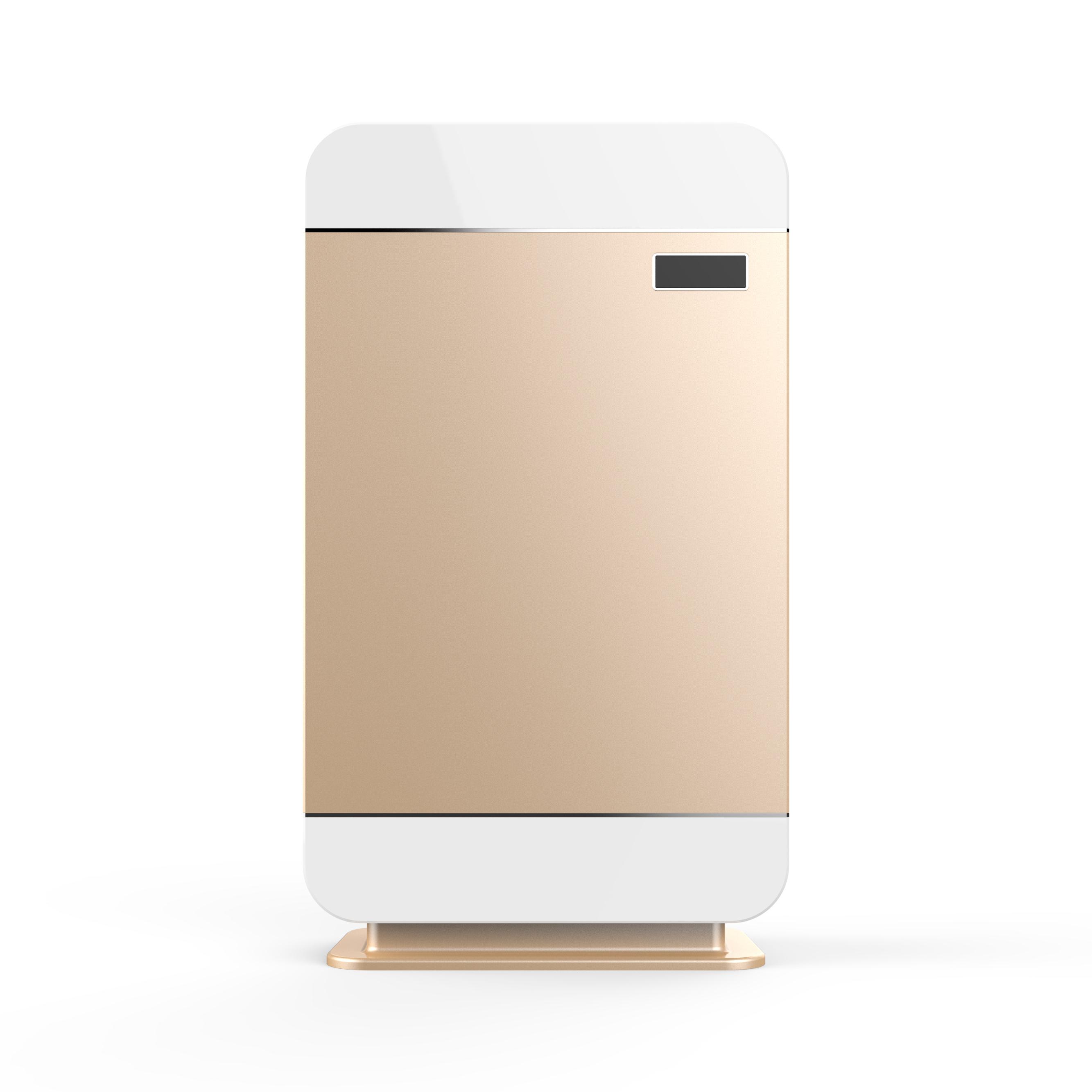 深氧吧 空气净化器  针对空气污染设计 除甲醛杀菌 雾霾PM2.5 玫瑰金