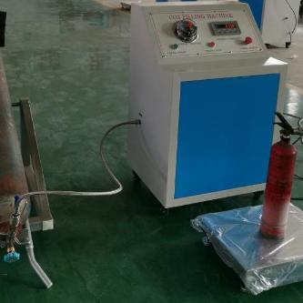二氧化碳灌装机鸿源GTM-E灭火器灌装设备