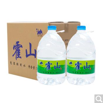 供应  霍山 矿泉水大小瓶装龙川黎咀天然弱碱性矿泉水 饮用山泉水5L 4瓶 箱