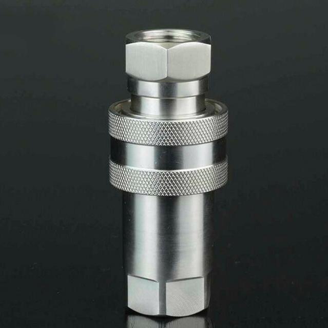 供应so7241-a型耐磨耐用油管接头 双封闭式液压快速接头图片