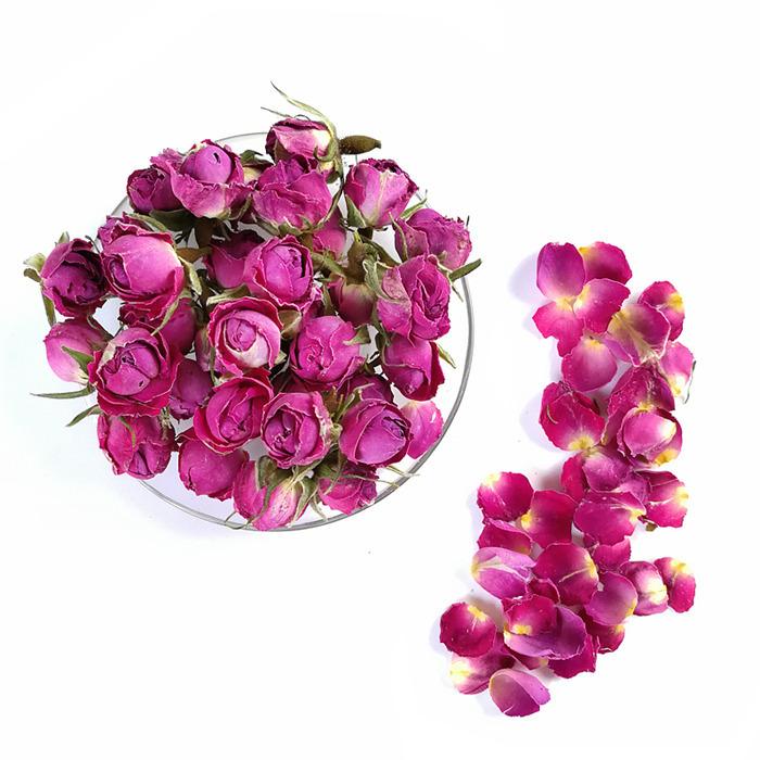 大马士革玫瑰花茶花草茶玫瑰干花蕾花茶 500g包邮