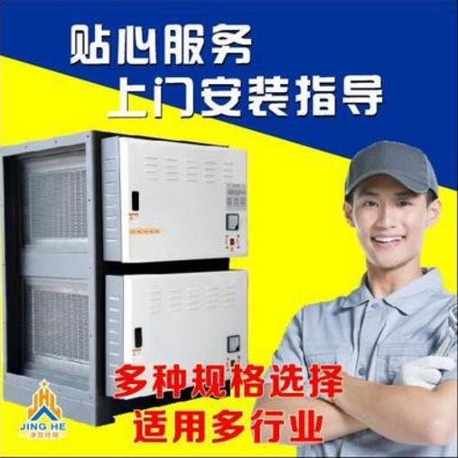 供应 臭氧离子除臭设备厨房专用臭气处理设备净化器等离子一体机光氧