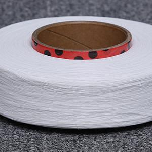 供应 侨新纤维供应140D白色氨纶丝内衣肩带专用高弹氨纶包覆纱4075定制