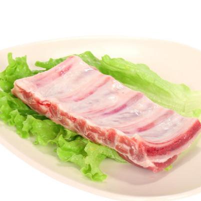 供应 徒河黑猪肉农家散养土猪肉肋排500g 肋排新鲜猪肉排骨猪肉年货