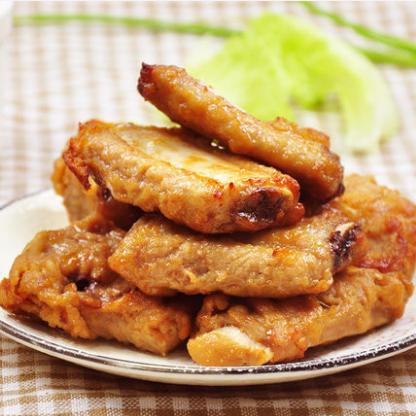 供应 如意三煲蒜香骨新鲜猪肋骨猪排骨500克腌制半成品烧烤油炸食材