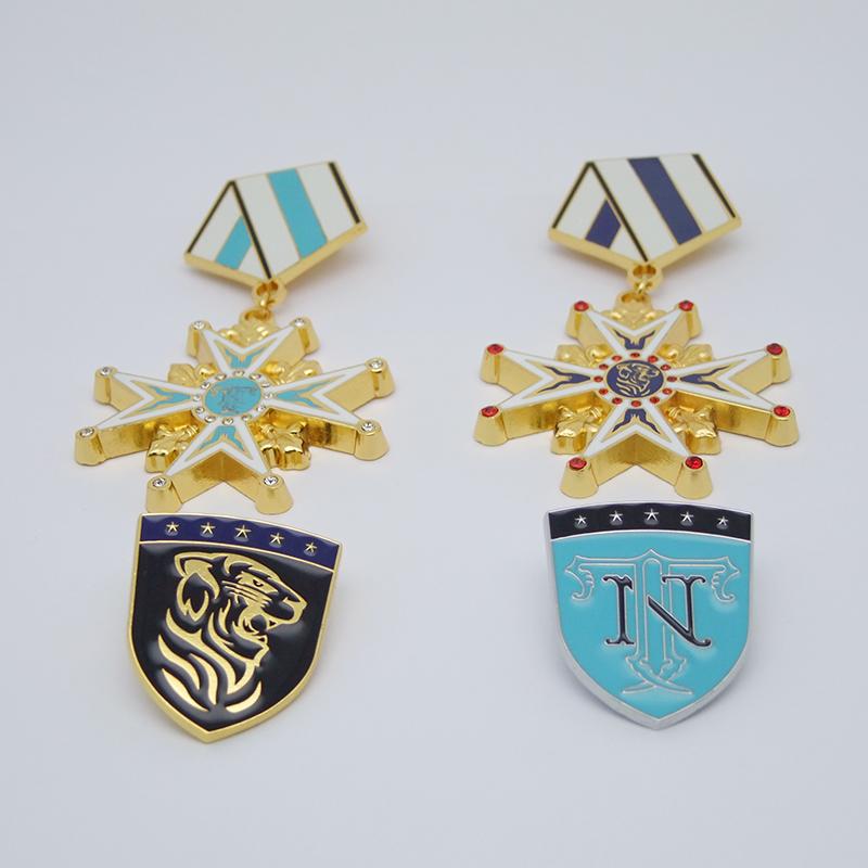 金属荣誉勋章订制