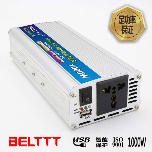 供应 BELTTT 1000W车载逆变器 广州车载逆变器BEL1000STU