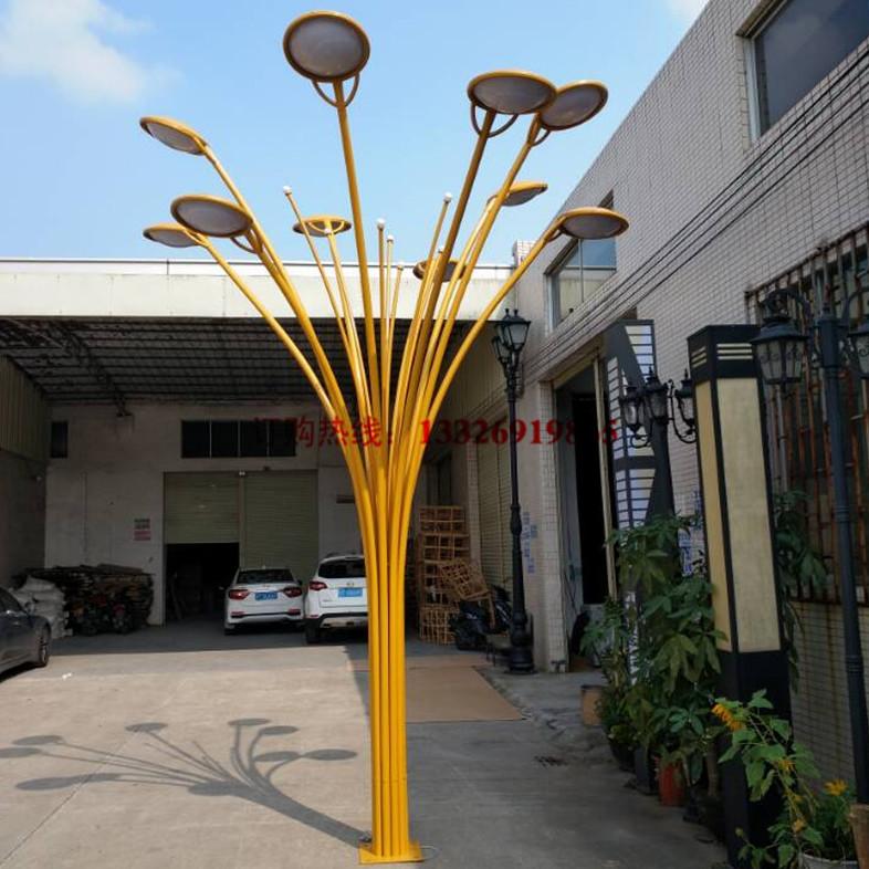 户外景观灯商业街步行街特色景观灯柱定制艺术树型户外景观灯观赏照明灯具
