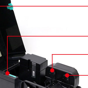 TSC 台半TTP-244 Pro 标签打印机不干胶热敏打印机条码二维码电子面单快递单 244pro