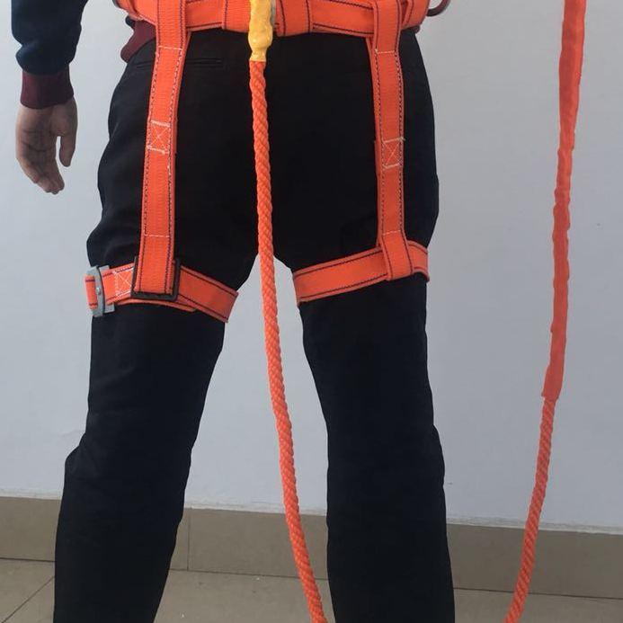 缓冲欧式安全带全身五点式高空作业保险带户外施工安全绳电工空调7