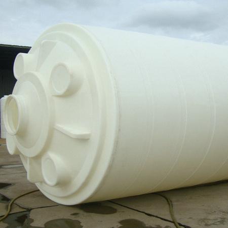佛山热销推荐耐强酸强碱PE40吨塑料水塔 40000L防腐白色塑胶水塔