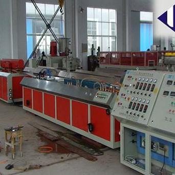 塑料窗帘轨道条生产线设备 pvc轨道条挤出机生产厂家
