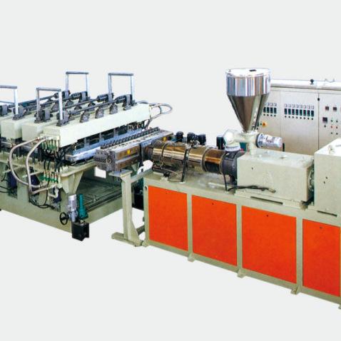 塑料板材挤出机制造生产线设备