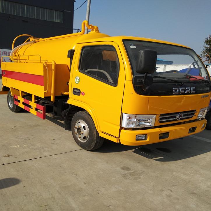 EQ1080L8BDB 多功能 高压清洗车 高压清洗吸污车 厂家直销