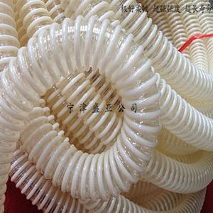 专业生产大口径PU塑筋增强软管 塑筋平滑管