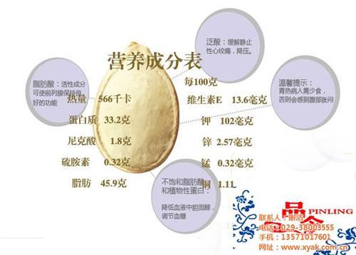 咸阳南瓜子批发,【品令食品厂】,生南瓜子批发价格