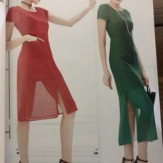 上海諾詩琪品牌折扣女裝批發貨源