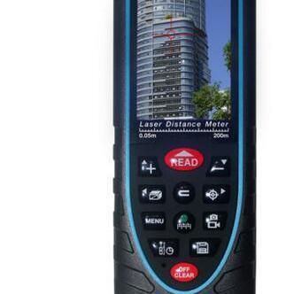 新品200米室外激光测距仪可以充电连电脑SW-Q200