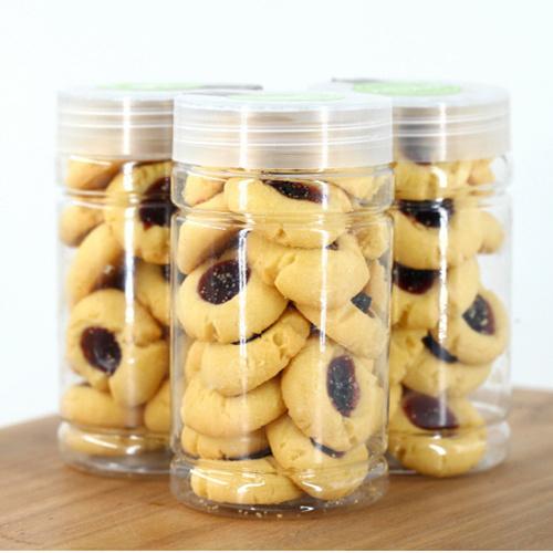 廠家直銷 60克藍莓餅干 休閑食品散裝餅干 藍莓口味酥性餅干