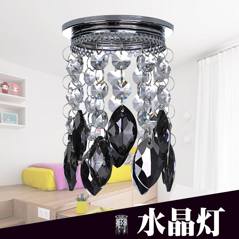 供应 水晶筒灯 天花灯 吸顶灯 水晶射灯 水晶灯 客厅 走廊过道灯 LED C5305