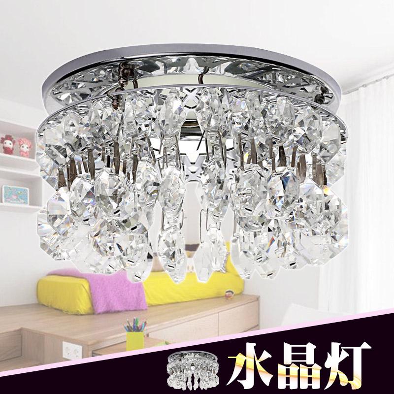 供应 水晶筒灯 天花灯 吸顶灯 水晶射灯 亚克力 客厅 走廊过道灯 LED C5304