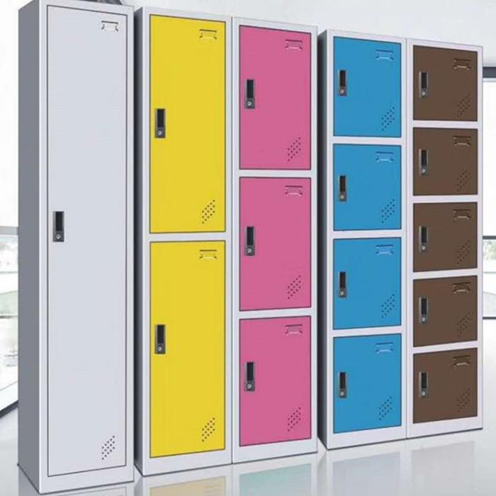 郑州柜之友单一 二 三 四 五门彩色更衣柜厂家直销 低价批发定制