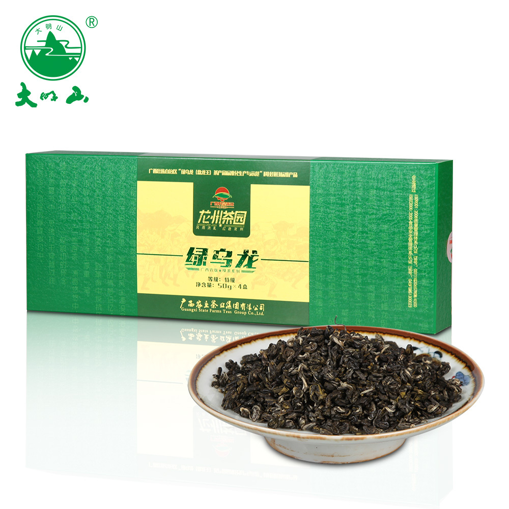 广西农垦茶庄   大明山茶叶绿乌龙