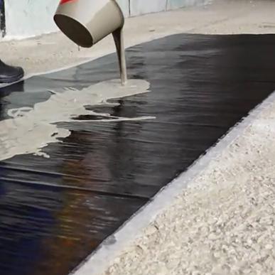 SEP-2000交联反应型自粘高分子防水卷材-地下室材料